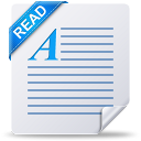 document, file, read, readme, text