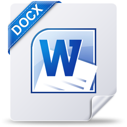 document, docx, file, win icon