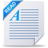 document, file, read, readme, text icon