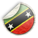 and, kitts, nevis, st icon