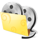 folder, movies, video icon