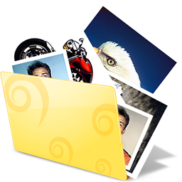folder, photos, pictures icon