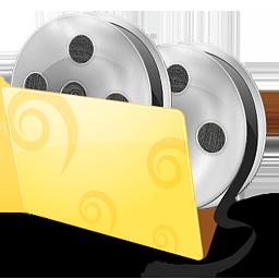 folder, movies, video icon