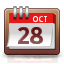 calendar, date, month, week icon