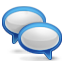 chat, comments, say, talk icon