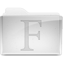 fontsfoldericon icon