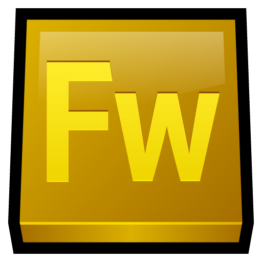 adobe, fireworks icon