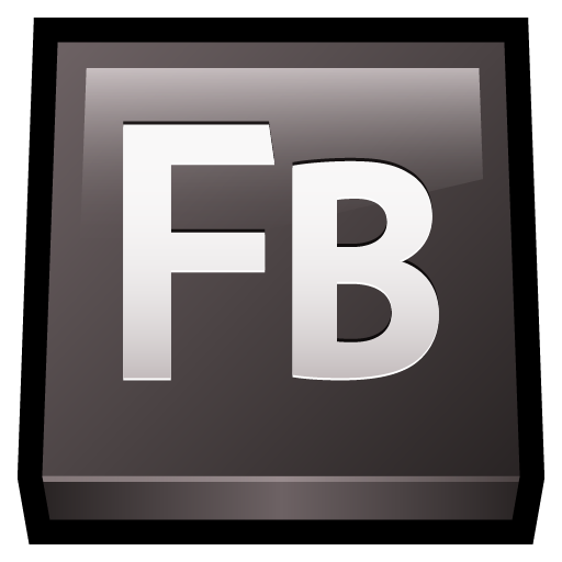 adobe, builder, flash icon