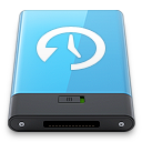 blue, machine, time, w icon