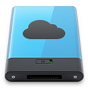 b, blue, idisk icon
