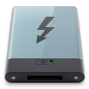 b, graphite, thunderbolt icon