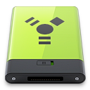 firewire, green icon