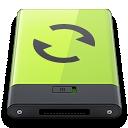 green, sync icon
