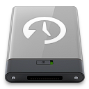 grey, machine, time, w icon