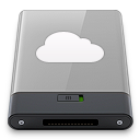 grey, idisk, w icon
