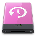 machine, pink, time, w icon