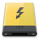 thunderbolt, yellow icon