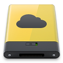 idisk, yellow icon