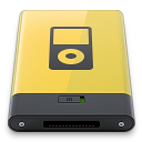 ipod, yellow icon