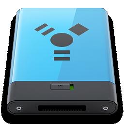 b, blue, firewire icon