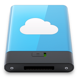 blue, idisk, w icon