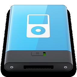 blue, ipod, w icon