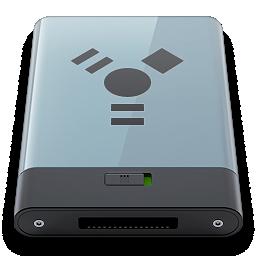 b, firewire, graphite icon