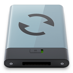b, graphite, sync icon