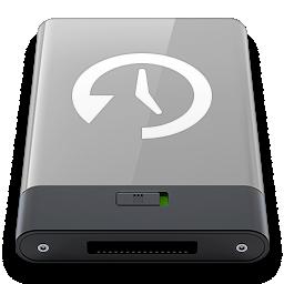 grey, machine, time, w icon