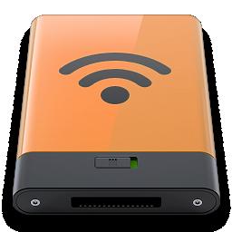 airport, b, orange icon