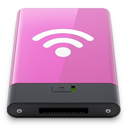 airport, pink, w icon