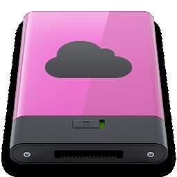 b, idisk, pink icon