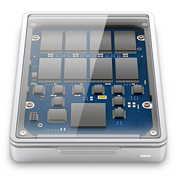 disk, solid, ssd, state icon