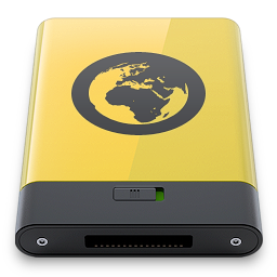 server, yellow icon