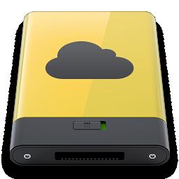 idisk, yellow icon