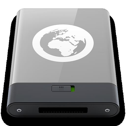 grey, server, w icon