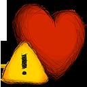 error, favourite icon
