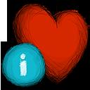 favourite, info icon