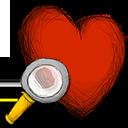 favourite, search icon