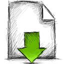 download, file icon
