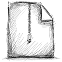 file, zipped icon