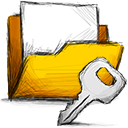 folder, encrypted icon