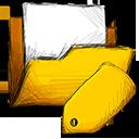 folder, tag icon