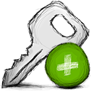 add, key icon