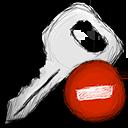 key, delete