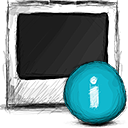 info, photo icon