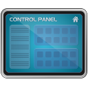 control panel, monitor, screen icon