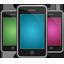 iphones, mobile, phones icon