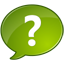 ask, chat, question mark, support, talk icon