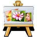 gallery, paintings, photos, portfolio icon